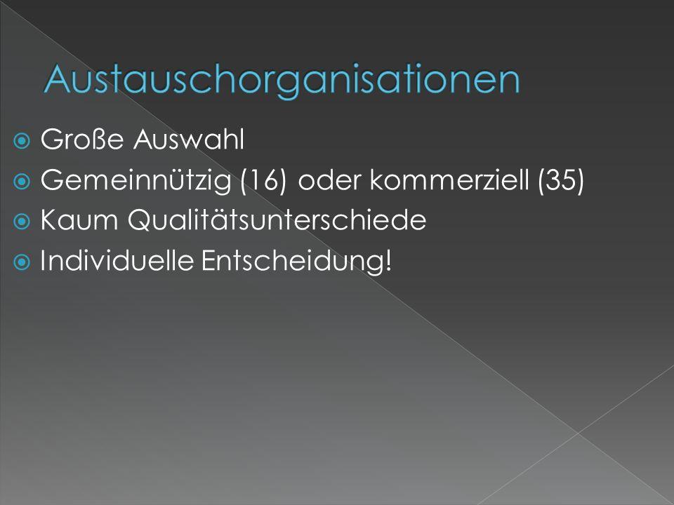 Austauschorganisationen