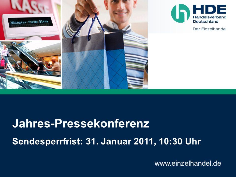 Jahres-Pressekonferenz