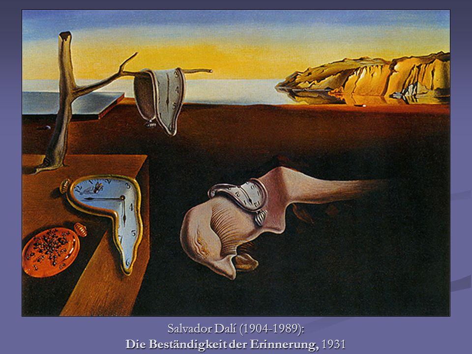 Salvador Dalí (1904-1989): Die Beständigkeit der Erinnerung, 1931