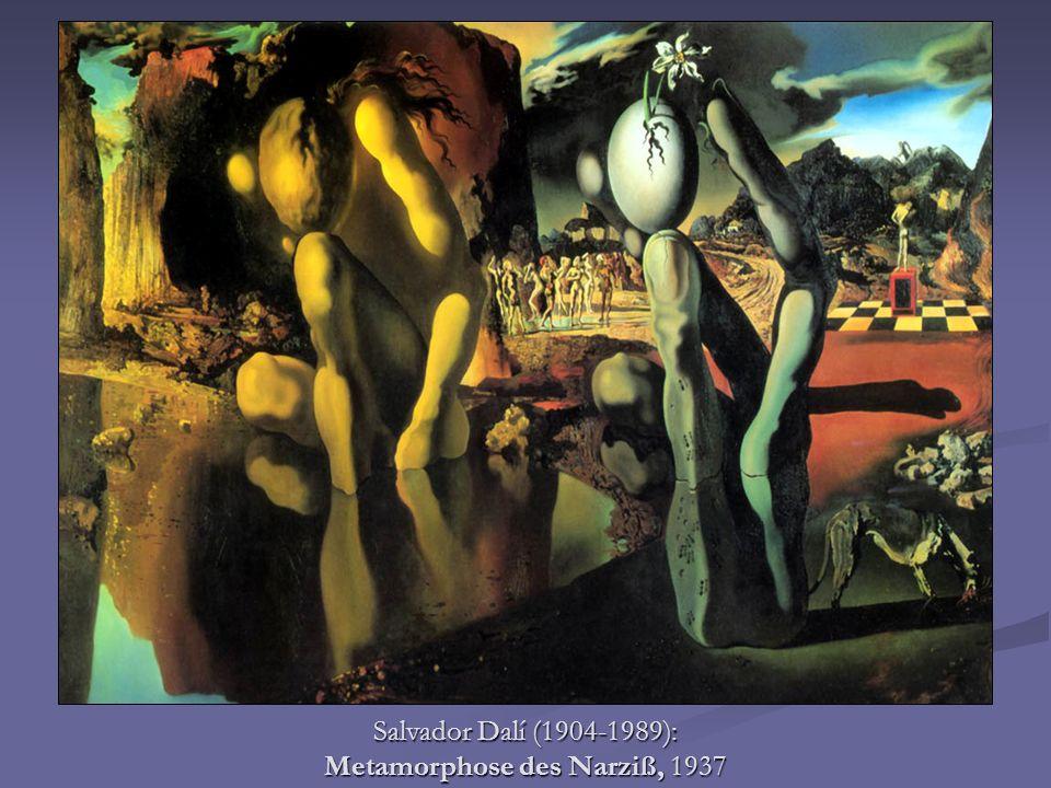Salvador Dalí (1904-1989): Metamorphose des Narziß, 1937