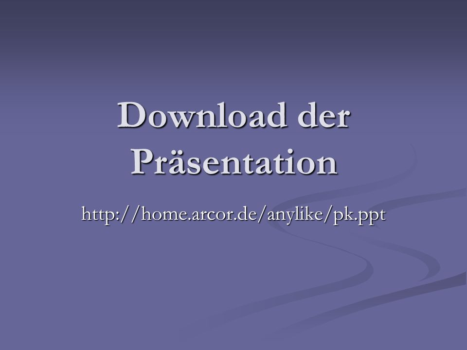 Download der Präsentation