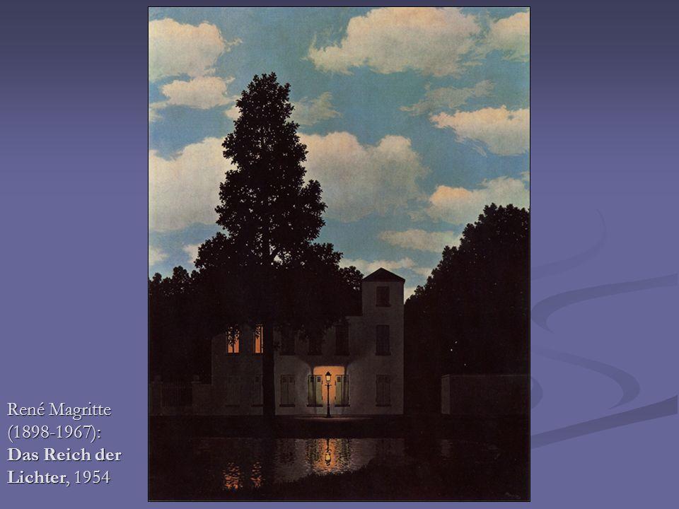 René Magritte (1898-1967): Das Reich der Lichter, 1954