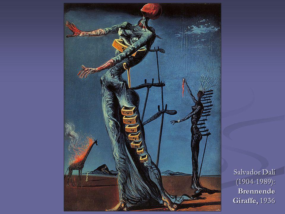 Salvador Dalí (1904-1989): Brennende Giraffe, 1936