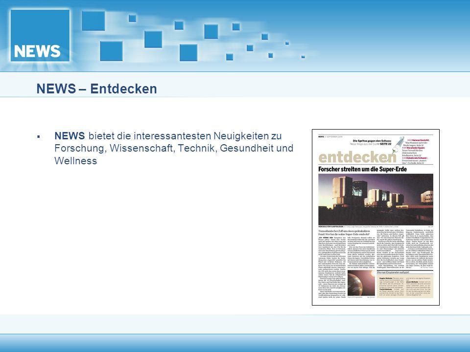 NEWS – Entdecken NEWS bietet die interessantesten Neuigkeiten zu Forschung, Wissenschaft, Technik, Gesundheit und Wellness.