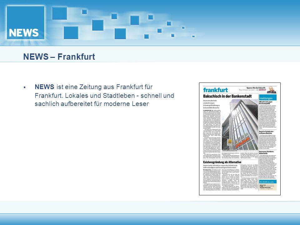 NEWS – Frankfurt NEWS ist eine Zeitung aus Frankfurt für