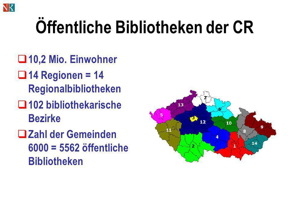 Öffentliche Bibliotheken der CR