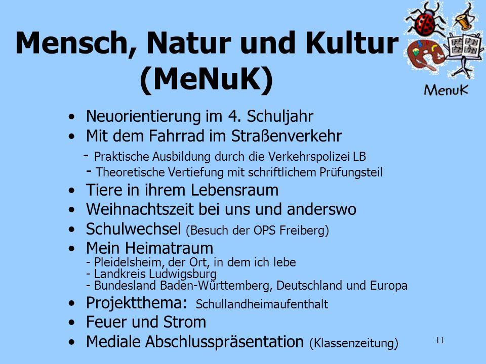Mensch, Natur und Kultur (MeNuK)