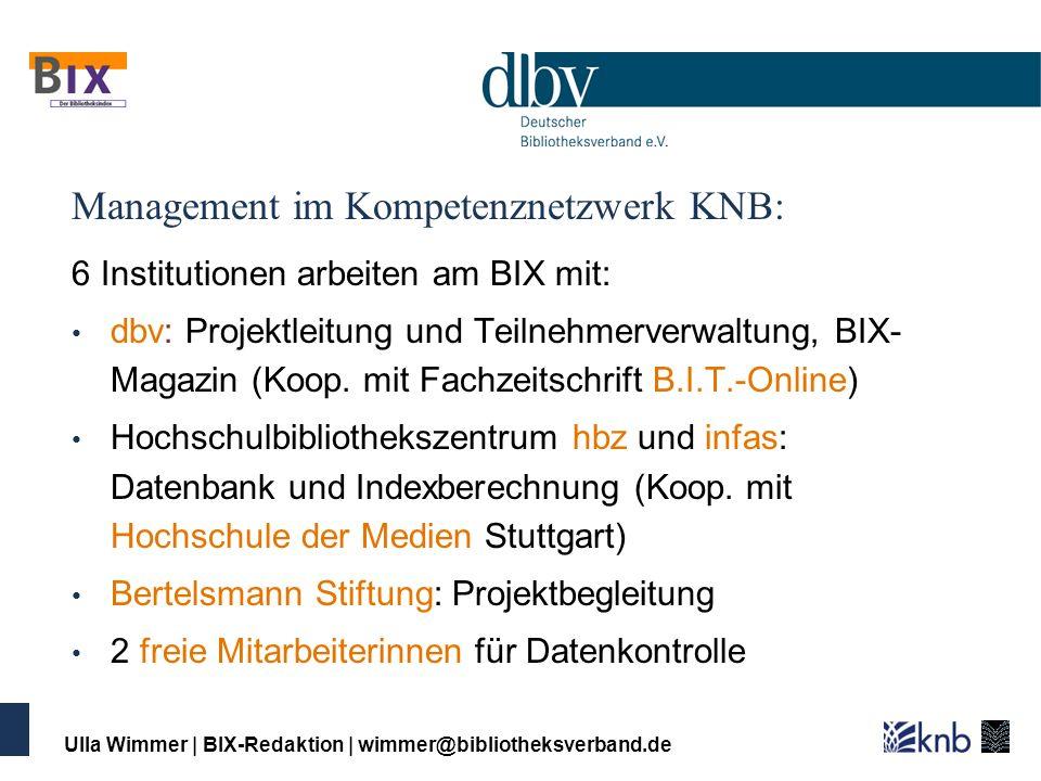 Management im Kompetenznetzwerk KNB: