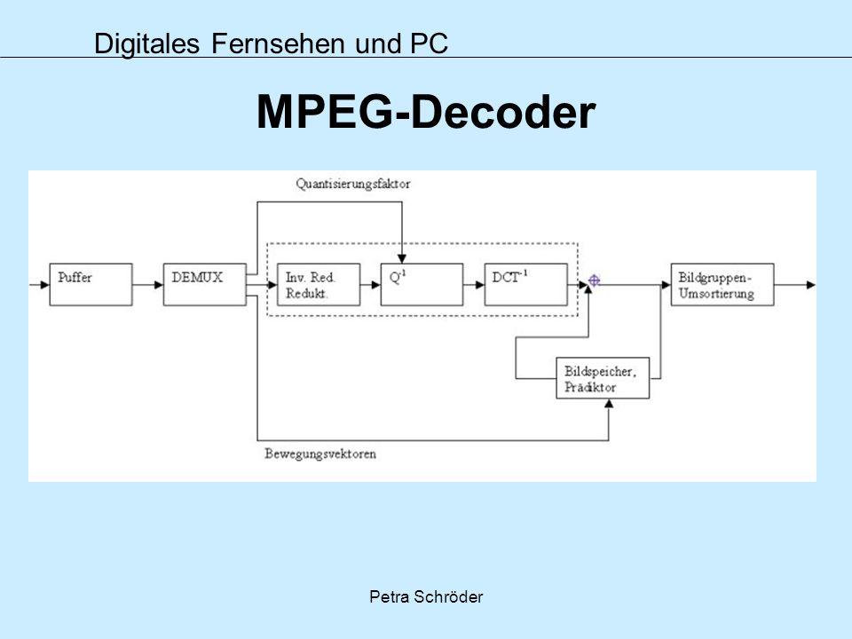MPEG-Decoder Petra Schröder