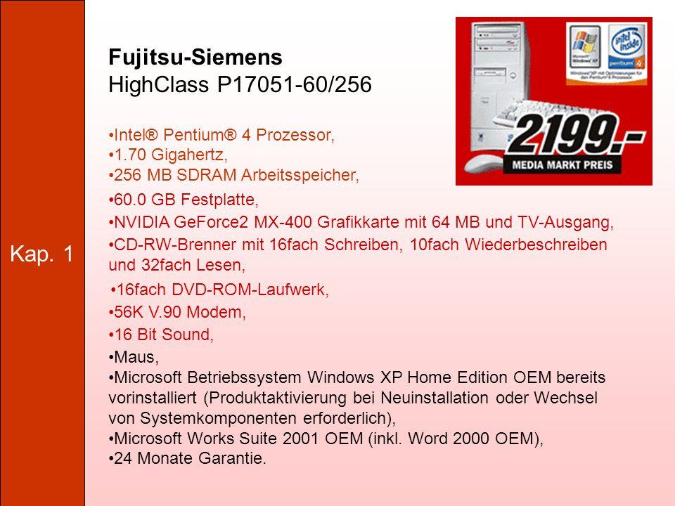 Fujitsu-Siemens HighClass P17051-60/256