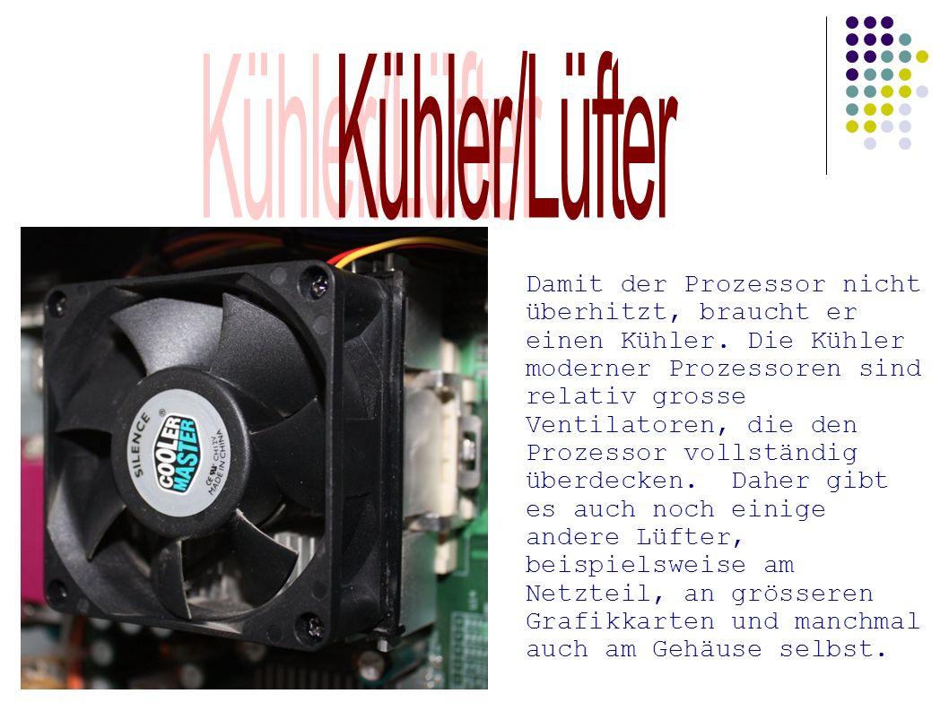 Kühler/Lüfter