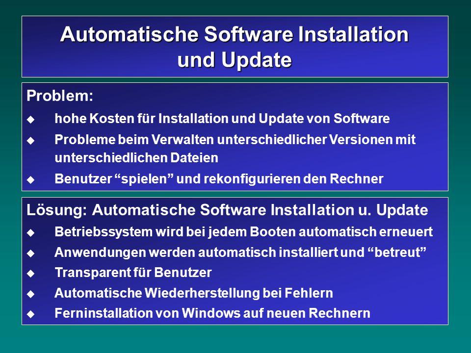 Automatische Software Installation und Update