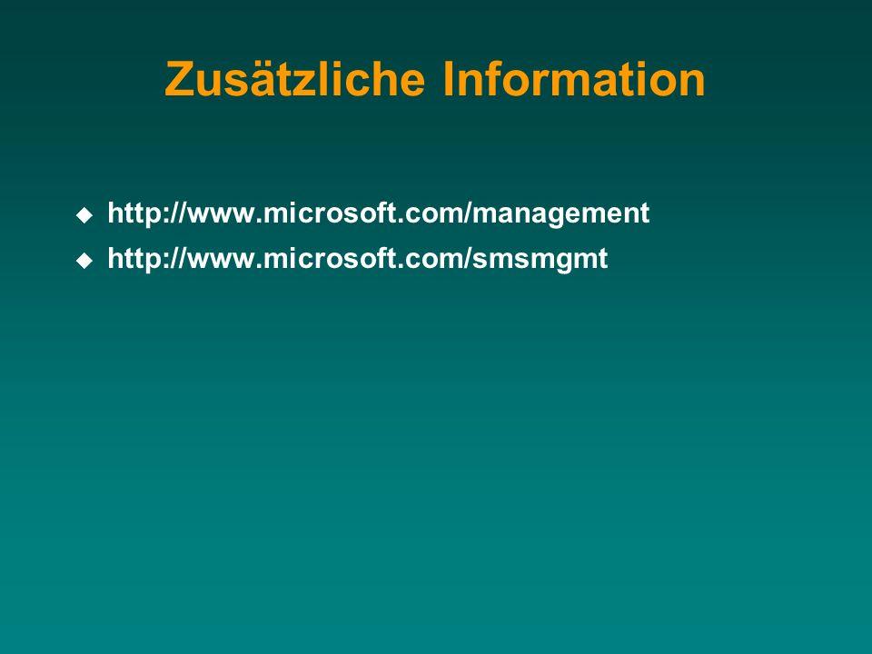 Zusätzliche Information