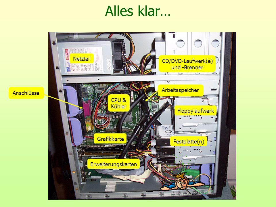 CD/DVD-Laufwerk(e) und -Brenner