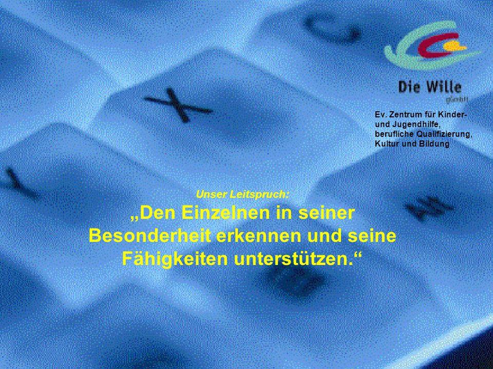 Ev. Zentrum für Kinder- und Jugendhilfe, berufliche Qualifizierung, Kultur und Bildung
