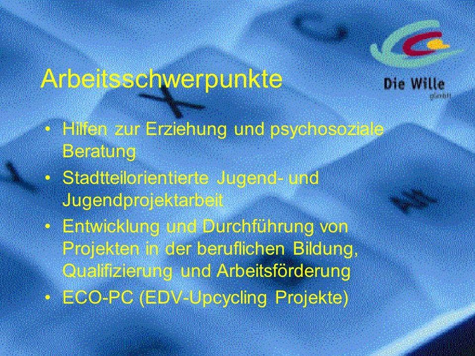Arbeitsschwerpunkte Hilfen zur Erziehung und psychosoziale Beratung