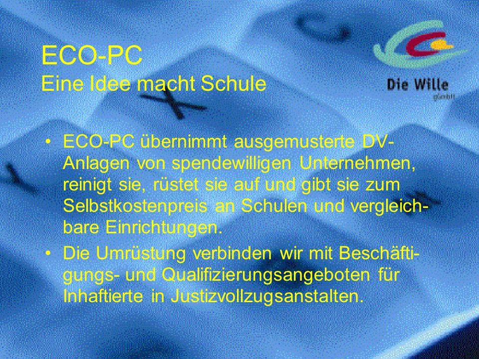 ECO-PC Eine Idee macht Schule