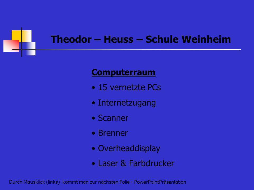Theodor – Heuss – Schule Weinheim