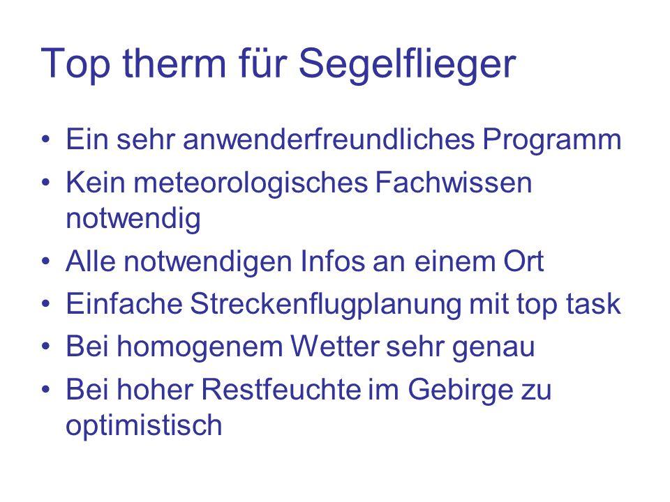Top therm für Segelflieger