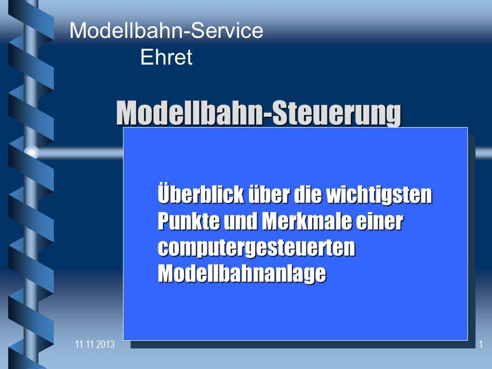 Modellbahn-Steuerung