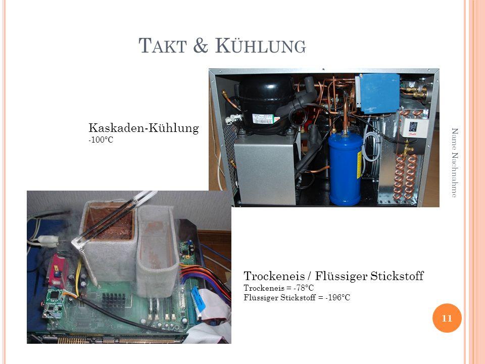 Takt & Kühlung Kaskaden-Kühlung Trockeneis / Flüssiger Stickstoff