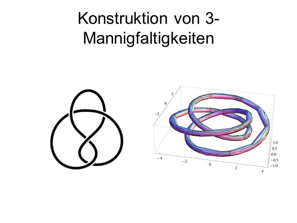Konstruktion von 3-Mannigfaltigkeiten