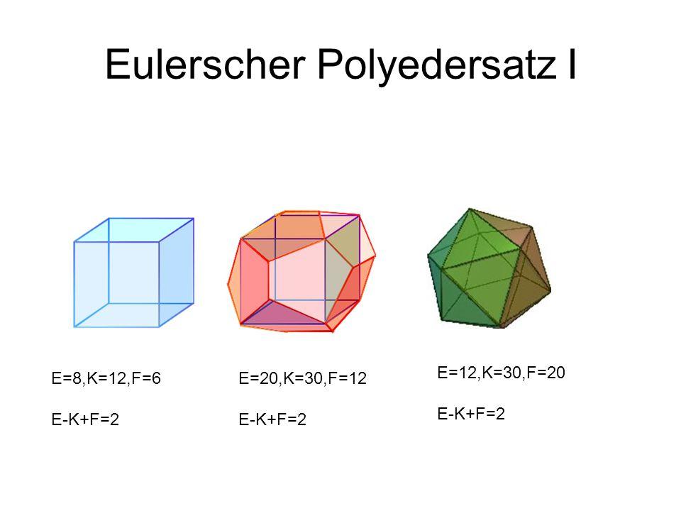 Eulerscher Polyedersatz I