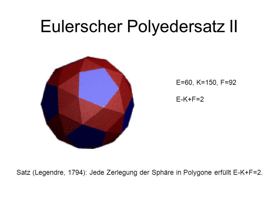 Eulerscher Polyedersatz II