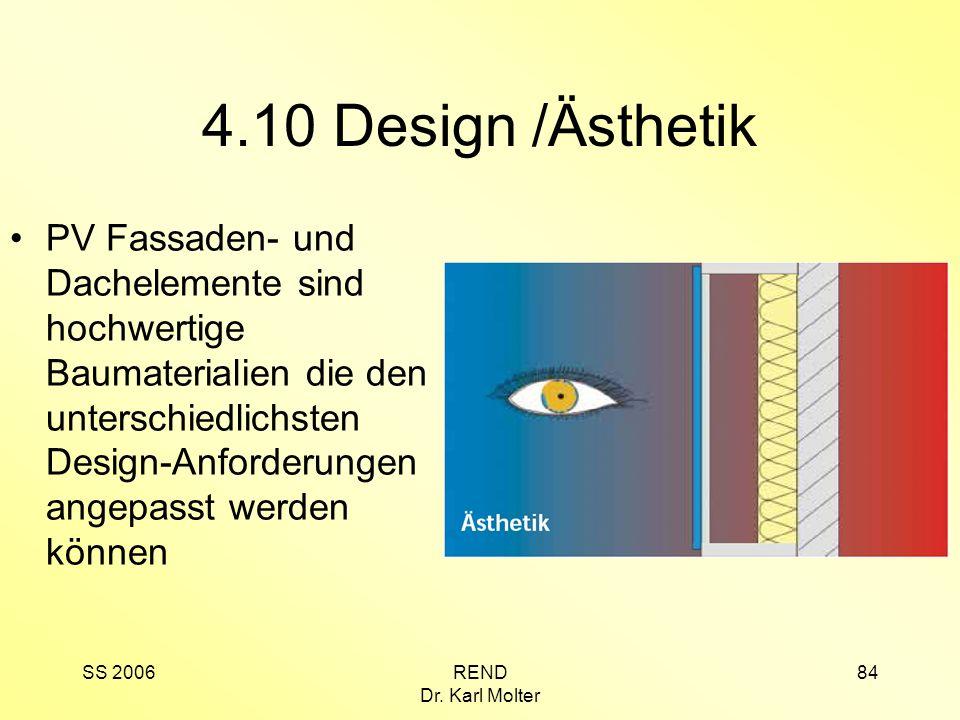 4.10 Design /Ästhetik