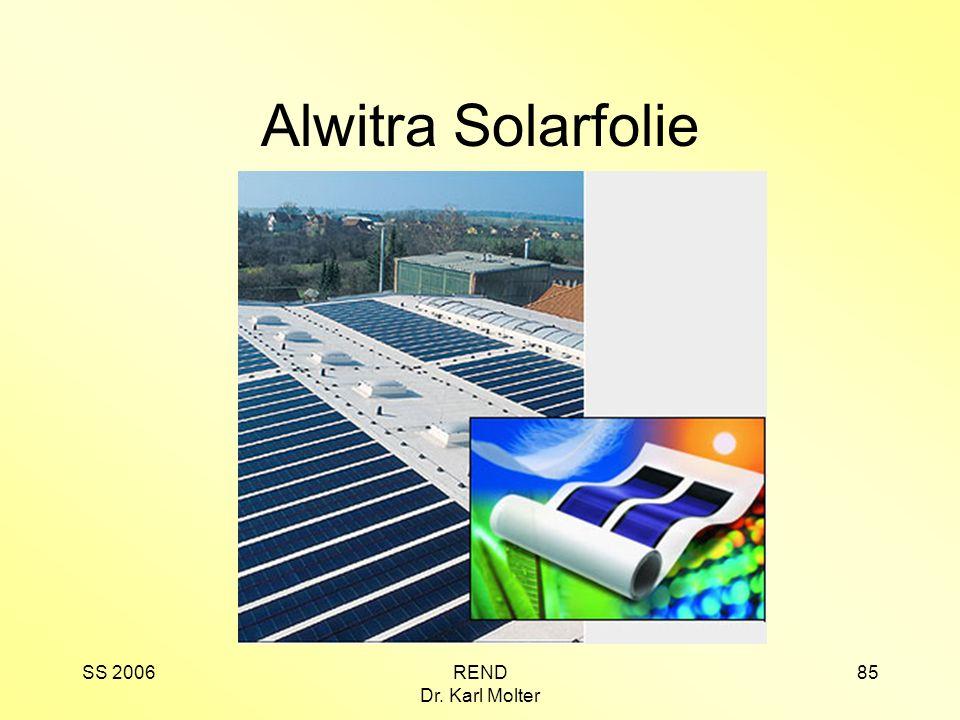 Alwitra Solarfolie SS 2006 REND Dr. Karl Molter