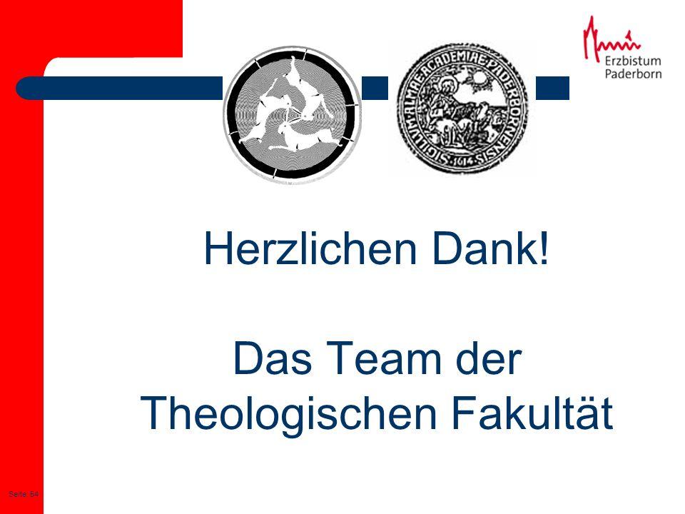 Theologischen Fakultät