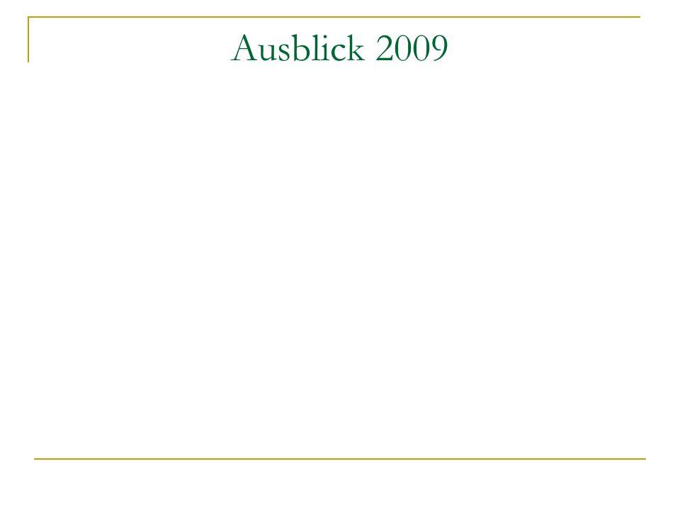Ausblick 2009