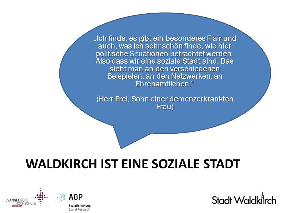 Waldkirch ist eine Soziale Stadt