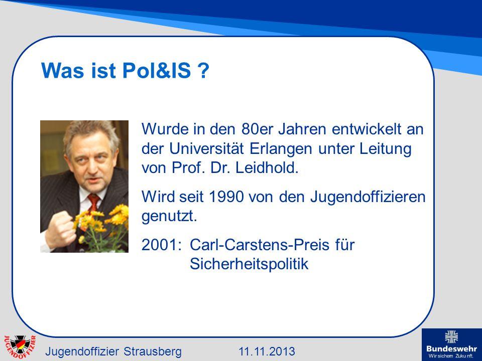 Was ist Pol&IS Wurde in den 80er Jahren entwickelt an der Universität Erlangen unter Leitung von Prof. Dr. Leidhold.