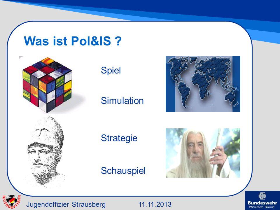 Was ist Pol&IS Spiel Simulation Strategie Schauspiel