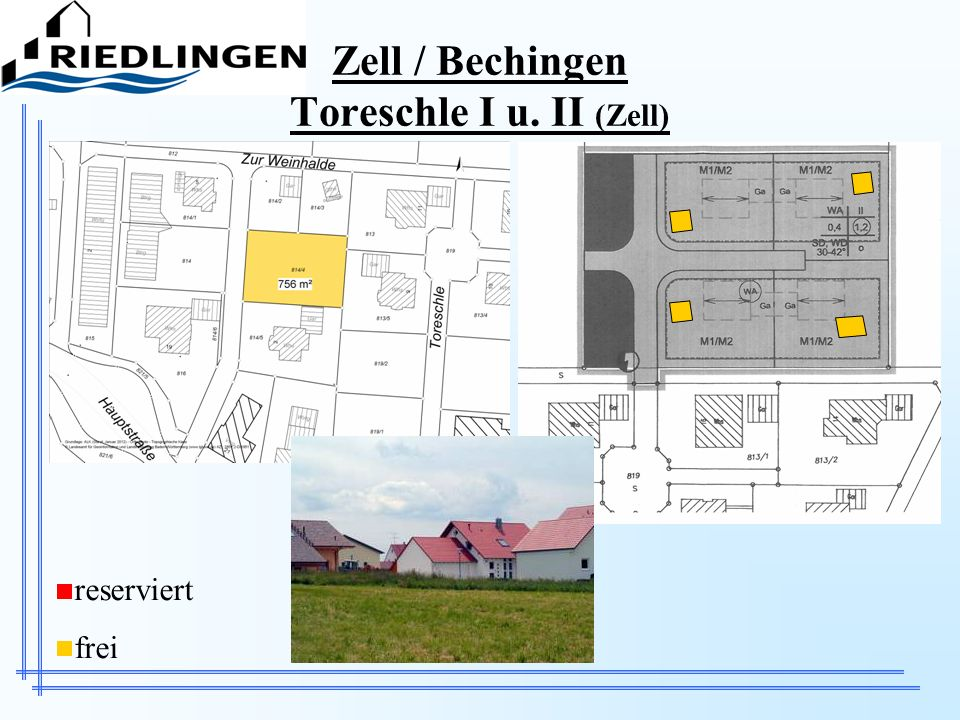 Zell / Bechingen Toreschle I u. II (Zell)