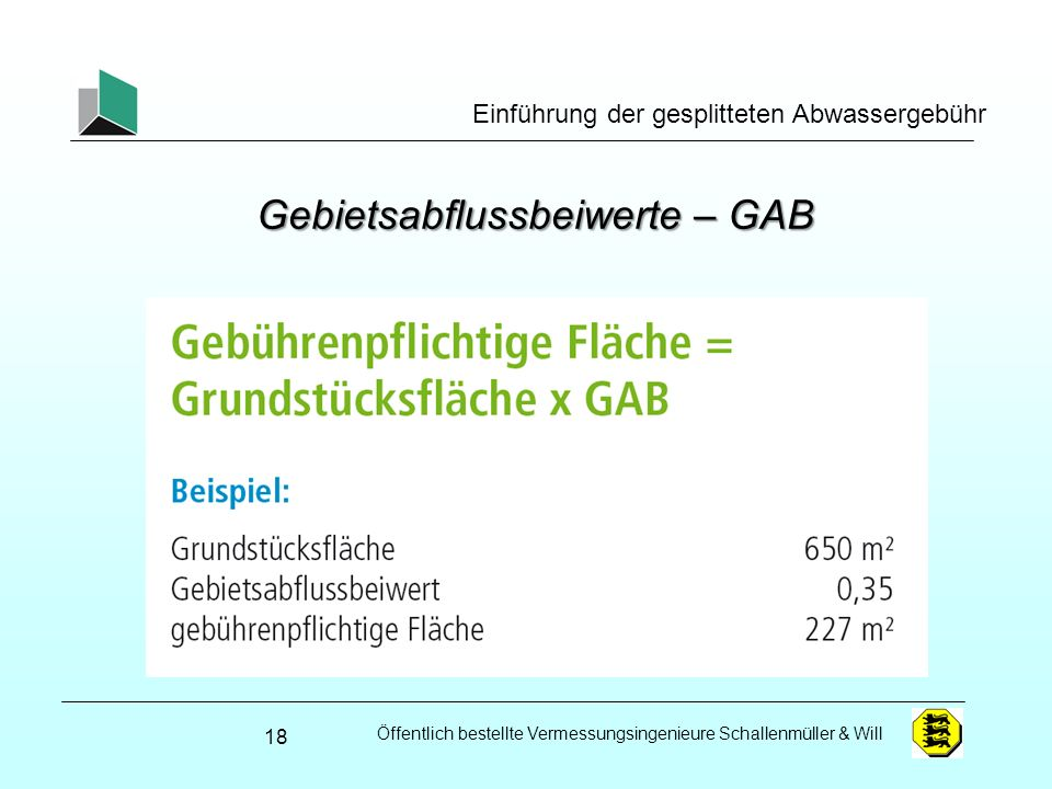 Gebietsabflussbeiwerte – GAB