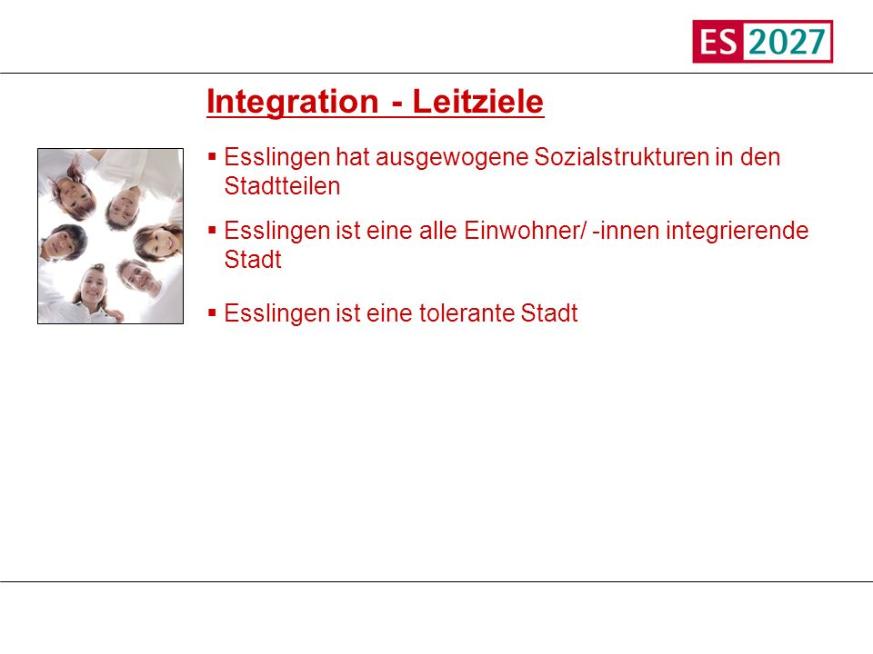 Integration - Leitziele