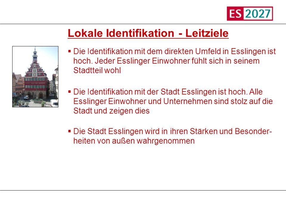 Lokale Identifikation - Leitziele