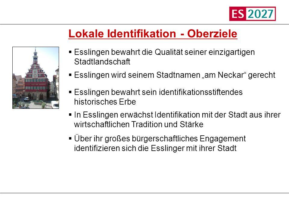 Lokale Identifikation - Oberziele