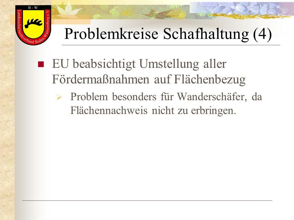Problemkreise Schafhaltung (4)