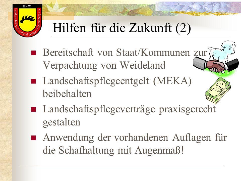 Hilfen für die Zukunft (2)