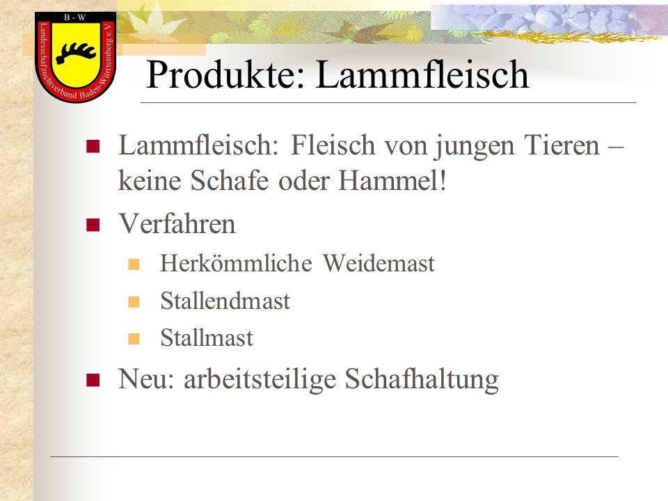 Produkte: Lammfleisch