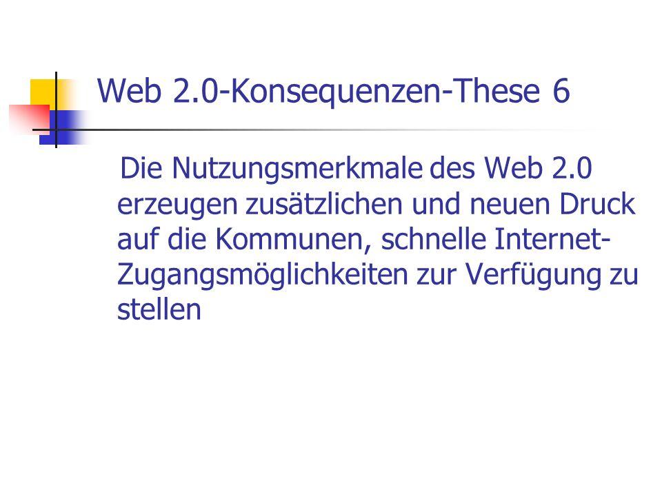 Web 2.0-Konsequenzen-These 6