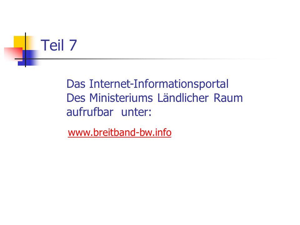 Teil 7 Das Internet-Informationsportal