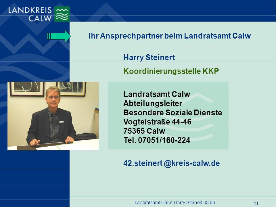 Landratsamt Calw, Harry Steinert 03.06