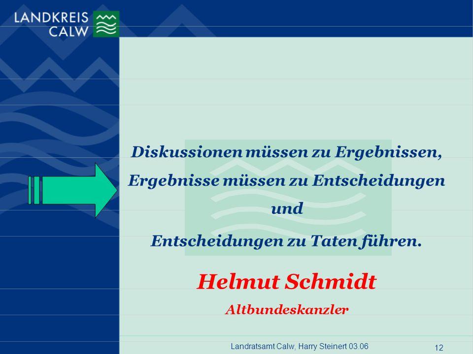 Helmut Schmidt Diskussionen müssen zu Ergebnissen,