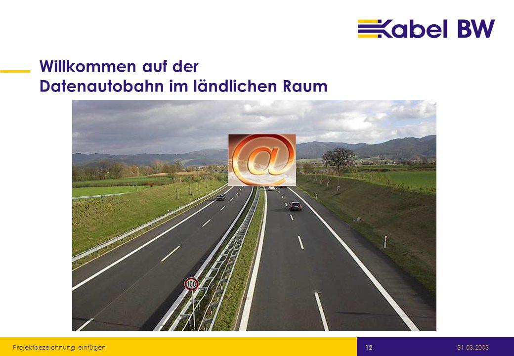 Willkommen auf der Datenautobahn im ländlichen Raum