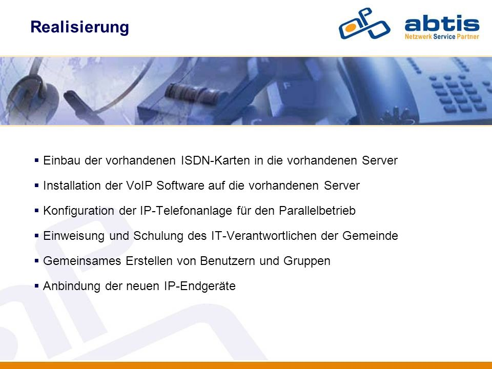 Realisierung IT - Security