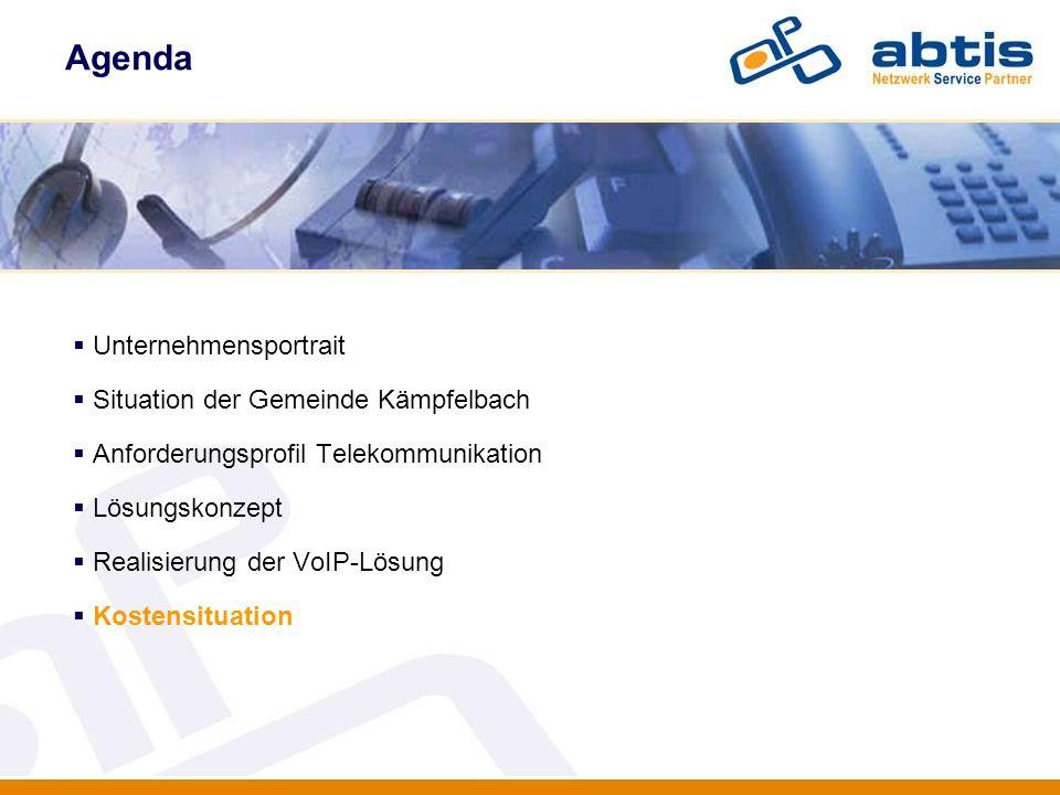 Agenda Unternehmensportrait Situation der Gemeinde Kämpfelbach